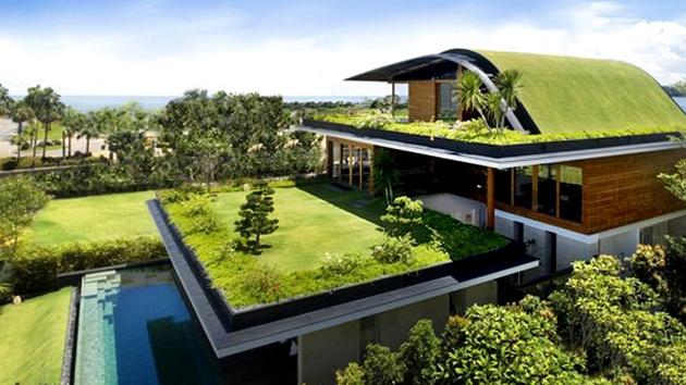 kiến trúc nhà ở xanh