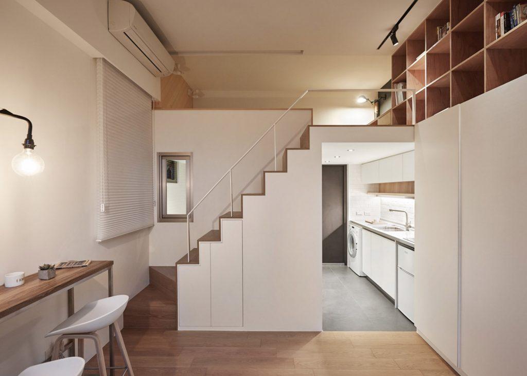 cải tạo nhà căn hộ chung cư đẹp