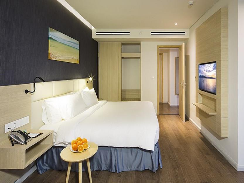cải tạo nhà 4 tầng thành khách sạn