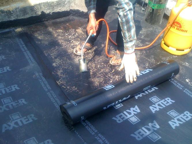 cải tạo chống thấm nhà mái bằng