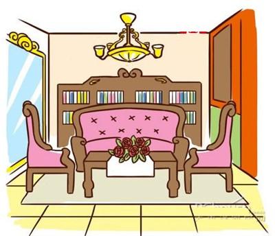 bày trái phòng khách