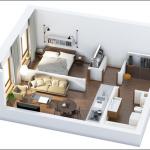 chi phí và thời gian cải tạo nội thất nhà 50m2
