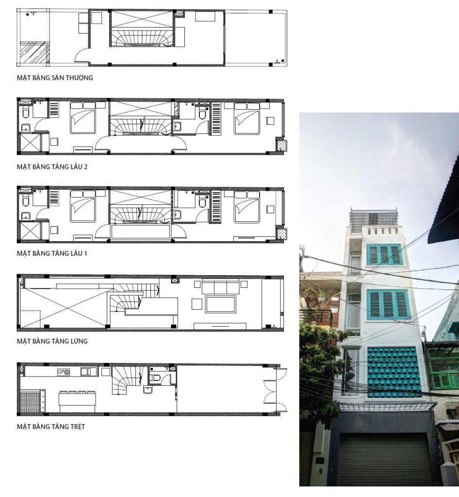 nhà nhỏ 50m2 thiết kế đẹp