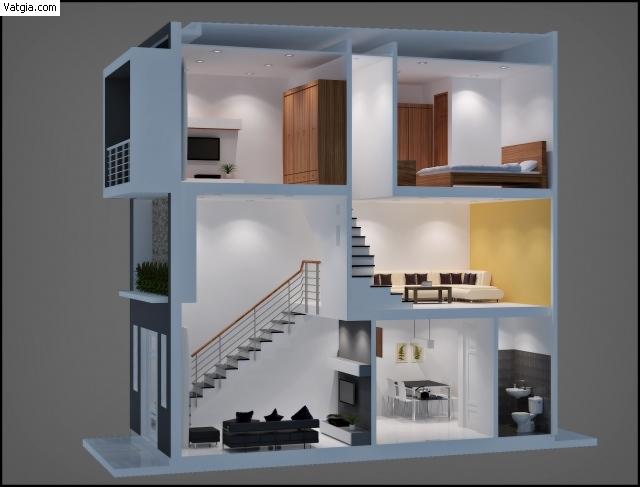 cải tạo nhà cấp 4 thành nhà 2 tầng