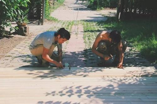 Hai Chàng Trai Trẻ Tự Xây Nhà Giữa Rừng Tre Trúc
